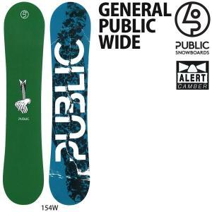スノーボード 板 18-19 PUBLIC パブリック GENERAL PUBLIC-WIDE ジェネラルパブリックワイド|move