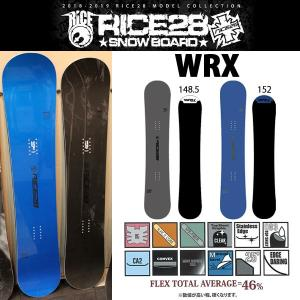 スノーボード 板 ハイスピード グラトリ ラントリ カービング 18-19 RICE28 ライス28 WRX ダブルアールエックス|move