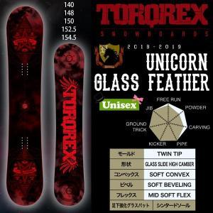 スノーボード 板 グラトリ ハイキャンバー パーク ツイン 18-19 TORQREX トルクレックス UNICORN GLASS FEATHER ユニコーン グラスフェザー|move