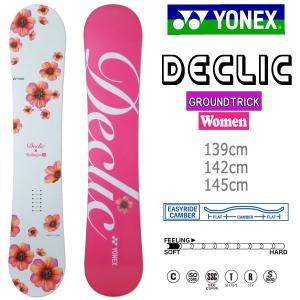 スノーボード 板 渋谷女子企画コラボ 18-19 YONEX ヨネックス DECLIC デクリック|move