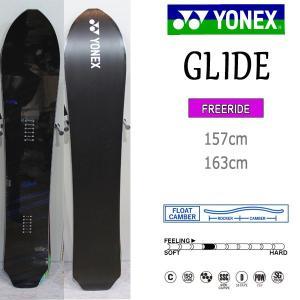 スノーボード 板 フリーライド カービング パウダー 18-19 YONEX ヨネックス GLIDE グライド|move
