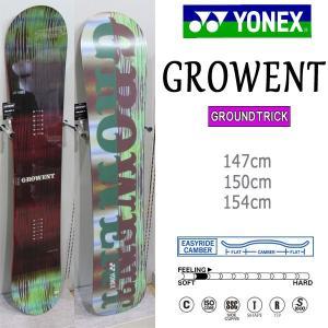 スノーボード 板 グラトリ 超ソフト JIB 18-19 YONEX ヨネックス GROWENT グロウエント move