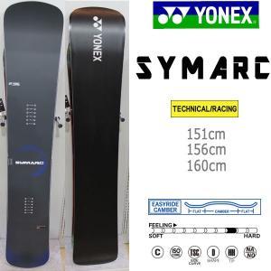 スノーボード 板 カービング スピード ハイレスポンス 18-19 YONEX ヨネックス SYMARC シマーク|move