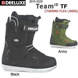 スノーボード ブーツ 靴 19-20 DEELUXE ディーラックス ID TEAM TF アイディーチーム TF 成型インナー フリースタイル グラトリ
