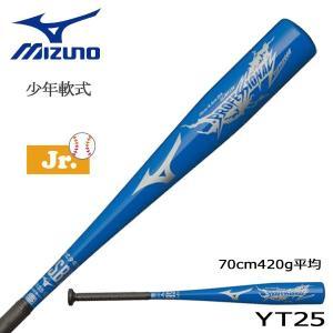 野球 バット ジュニア 少年軟式用 金属製 ミズノ MIZUNO プロモデル 筒香型 ブルー 70cm420g平均 新球対応|move