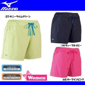 スポーツウェア パンツ ミズノ MIZUNO ウインドブレーカーハーフパンツ ショーツ CROSSTIC レディース用|move