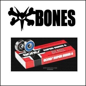 BONES ボーンズ SWISS 6-BALL スケートボード ベアリング last_ap ラスト1品のみ|move