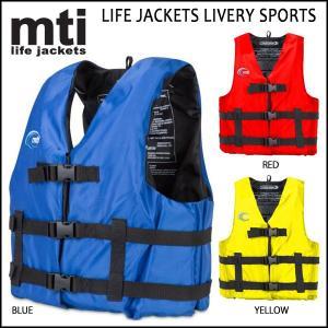 MTI(エムティーアイ) LIFE JACKETS LIVERY SPORTS ライフジャケット SUP マリンスポーツ用|move