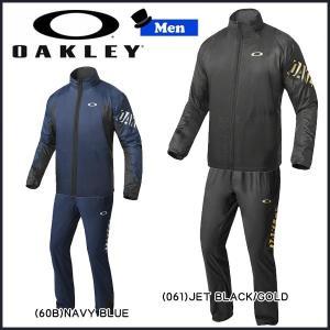 予約商品9月末入荷 スポーツウェア ウインドブレーカー メンズ オークリー OAKLEY エンハンス ウインドウォーム スタンドジャケット パンツ 6.7上下セット move