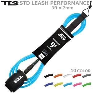 サーフィン リーシュ TOOLS(ツールス) TLS PERFORMANCE LEASH 9ft x...