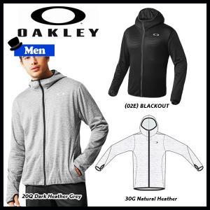 スポーツウェア トレーニングウェア メンズ ジャケット オークリー OAKLEY ACCELERATOR ライトフリース ジャケット 7.0|move