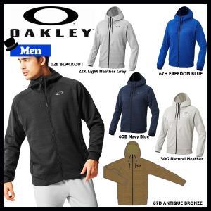スポーツウェア トレーニングウェア メンズ ジャケット オークリー OAKLEY ENHANCE テクニカル フリースジャケット GRID 7.0|move