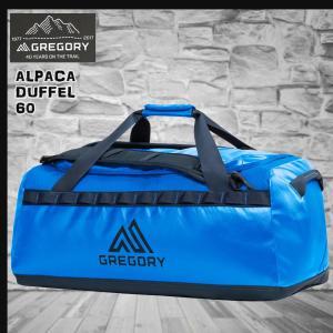GREGORY(グレゴリー) 新ロゴマーク ALPACA DUFFLE 60L MRN BLU アルパカダッフル 60L マリーンブルー /659241531(tp15)|move