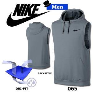 スポーツウェア ベスト メンズ ナイキ NIKE DRI-FIT トレーニング フリース S/L プルオーバー|move
