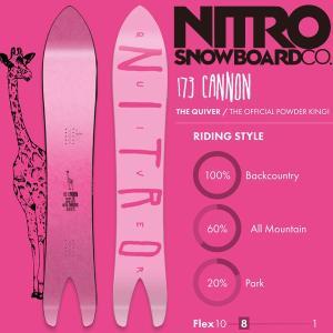 スノーボード 板 18-19 NITRO ナイトロ CANNON キャノン|move