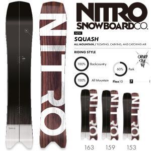 スノーボード 板 18-19 NITRO ナイトロ SQUASH スカッシュ|move