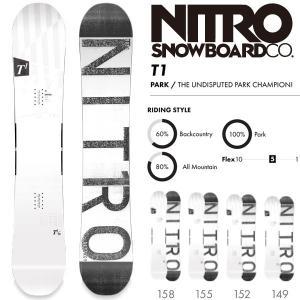 スノーボード 板 18-19 NITRO ナイトロ T1 ティーワン move
