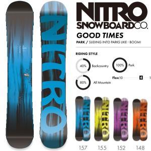 スノーボード 板 18-19 NITRO ナイトロ GOOD TIMES グッドタイムス move