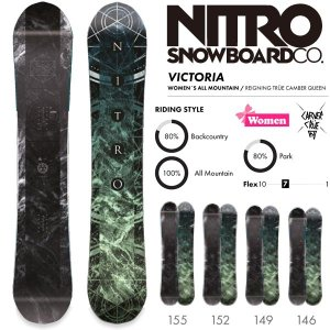 スノーボード 板 18-19 NITRO ナイトロ VICTORIA ビクトリア|move