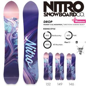 スノーボード 板 18-19 NITRO ナイトロ DROP ドロップ|move