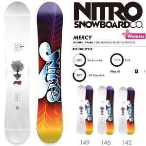 スノーボード 板 18-19 NITRO ナイトロ MERCY マーシー move