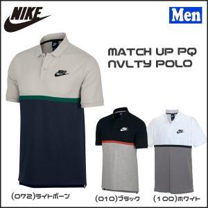 スポーツカジュアル メンズ ポロシャツ ナイキ NIKE マッチアップ PQ NVLTY ポロ スポーツMIX|move