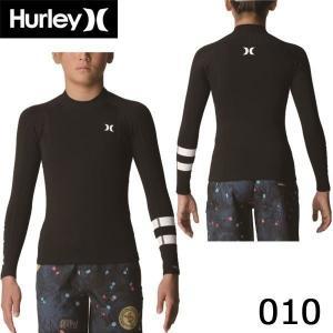 19 HURLEY ハーレー BOYS ADVANTAGE PLUS 1/1mm L/S JACKET ボーイズ ジュニア 長袖タッパー ジャケット ジャージ ウェットスーツ 日本正規品 あすつく|move