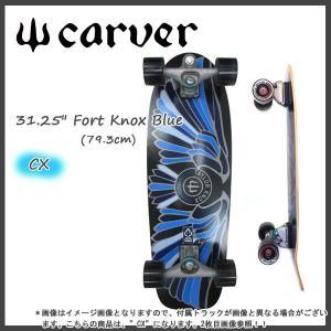 正規品 CARVER(カーバー) 31.25 Fort Knox Blue (フォートノックス) CX4仕様 テイラー・ノックス シグネチャー サーフスケート surf-sk|move