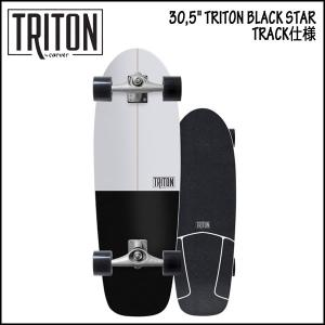 CARVER(カーバー) 30.5 TRITON BLACK STAR CX TRACK仕様 SURFSKATE サーフスケート|move
