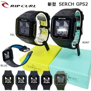 時計 GPS RIPCURL(リップカール)新型SERCH GPS2 サーフィンのデータを記録 充電式 タイドグラフ|move