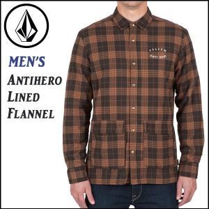 ネルシャツシャツVOLCOM Antihero Lined Flannel|move