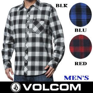 シャツ ネルシャツ VOLCOM ボルコム STONE FLANNEL L/S|move