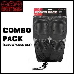 187 KILLER PADS(キラーパッド) COMBO PACK (ELBOW、KNEE SET) SK8 スケート ストリートスポーツ用|move