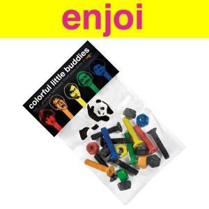 Enjoi エンジョイ Colourful Little Buddies 7/8インチデッキボルト|move