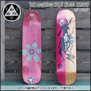 WELCOME (ウェルカム) スケートデッキ THE MAGICIAN SPLIT STAIN BUNYIP 8.0 X 32.0 SK8|move