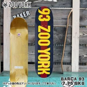 ZOOYORK(ズーヨーク) スケートデッキ BARCA 93 7.75 SK8 スケート|move
