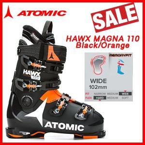 スキー スキーブーツ 靴 ATOMIC アトミック HAWX MAGNA 110 Black/Orange|move