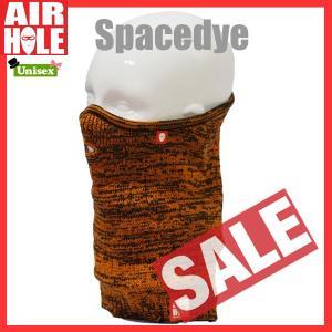 AIRHOLE エアホール AIRTUBE SPACEDYE フェイスマスク sps-sb|move