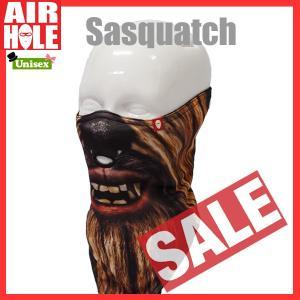 AIRHOLE エアホール STANDARD 1 SASQUATCH フェイスマスク sps-sb|move