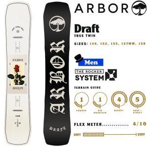スノーボード 板 フリースタイル JIB 18-19 ARBOR アーバー DRAFT ドラフト|move