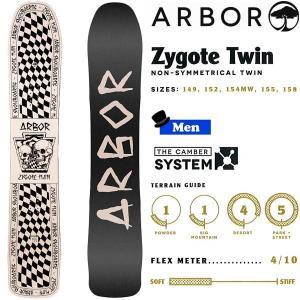 スノーボード 板 スケートスタイルツイン 18-19 ARBOR アーバー ZYGOTE TWIN ジゴートツイン|move