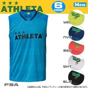 サッカーウエア アスレタ ATHLETA カラープラクティスノースリーブシャツ ath-17ss|move