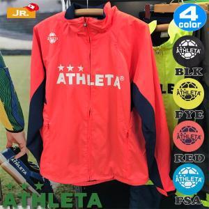 ジュニア サッカーウェア アスレタ ATHLETA ジュニア裏地付きウインドジャケット フットサル ath-18aw あすつく|move
