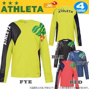 ジュニア サッカーウェア アスレタ ATHLETA ジュニア カラープラクティスシャツ フットサル ath-18aw あすつく|move