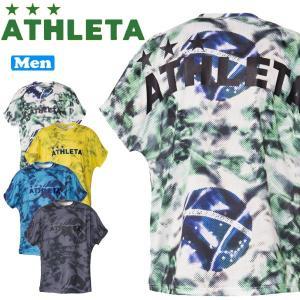 サッカーウェア アスレタ ATHLETA プラクティス柄Tシャツ ath-19ss あすつく move