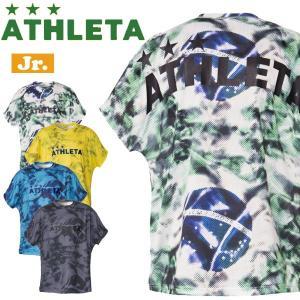 サッカーウェア アスレタ ATHLETA ジュニアプラクティス柄Tシャツ ath-19ss あすつく move