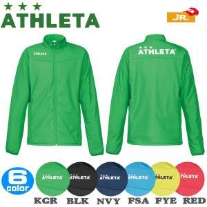 ジュニア サッカーウェア アスレタ ATHLETA ジュニア中綿ウォームジャケット フットサル ath-18aw|move