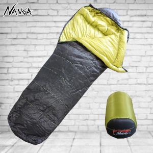 ナンガ 寝袋 オーロラライトオリジナル500 ダウンシュラフ 0度まで対応。|move