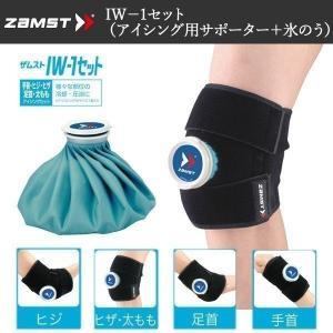サポーター ザムスト ZAMST IW-1 ひじ・ひざ・もも・足首・手首の冷却・圧迫用 アイスバッグ1個付き|move