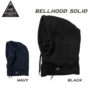bellwoodmade 【ベルウッドメイド】BELLHOOD/SOLID バラクラバ|move